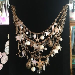 Charm chain necklace